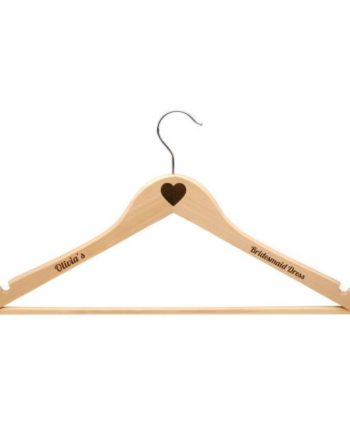 Personalised Child's Wooden Clothes Hanger