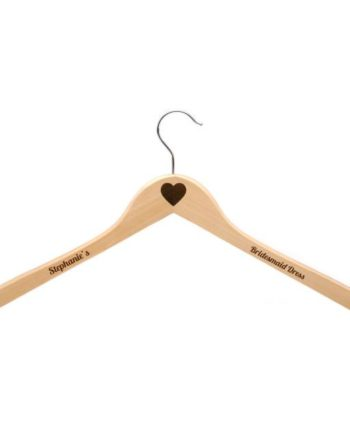 Personalised Adult's Wooden Clothes Hanger