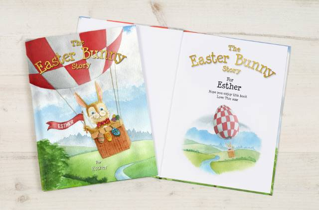 The Easter Bunny Personalised Story Book