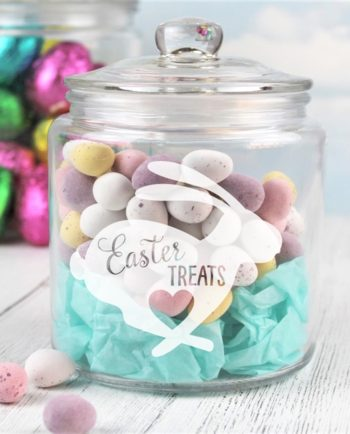 Personalised Easter Treats Jar