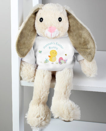 Personalised Easter Meadow Bunny Rabbit Soft Cuddly Toy