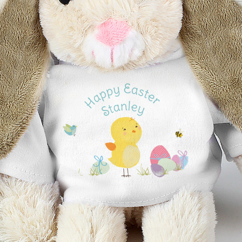 Personalised 'Easter Meadow' Bunny Rabbit Soft Toy