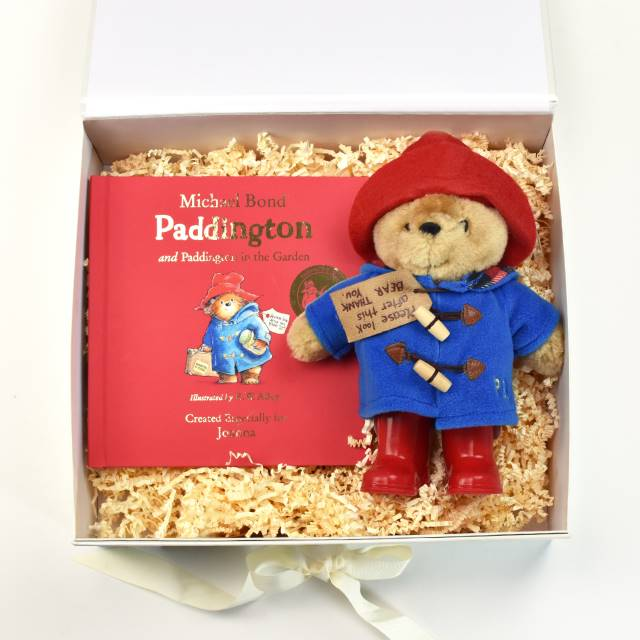 Paddington Bear Personalised Story Book & Plush Toy Gift Set