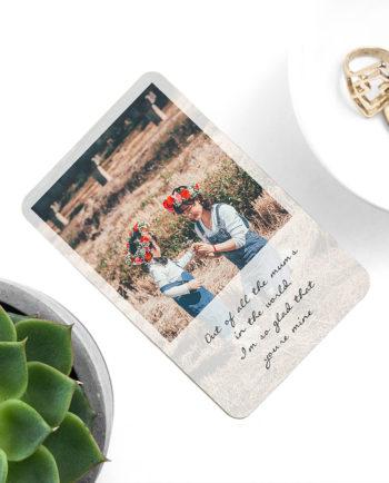 Personalised Mum's Photographic Wallet Keepsake