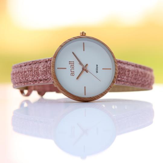 Personalised Own Handwriting Sweet Pink Anaii Watch