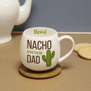 Personalised Nacho Average Dad Mug