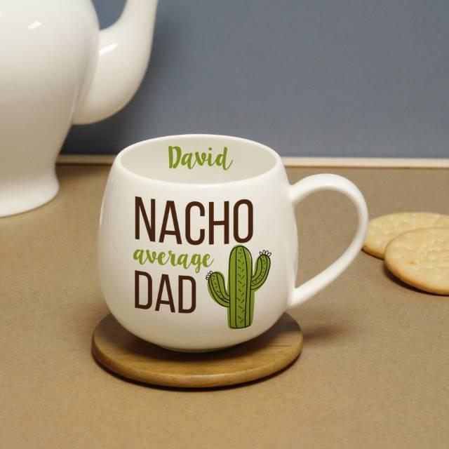 Personalised 'Nacho Average Dad' Mug