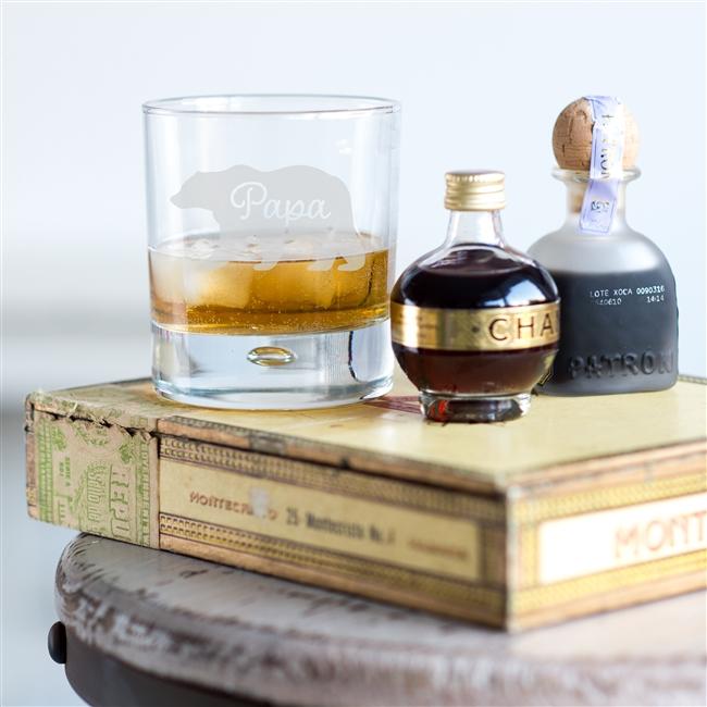 'Papa Bear' Whisky Glass