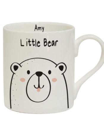 Personalised Little Bear Balmoral Mug