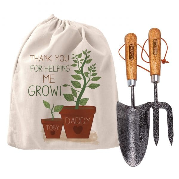Personalised 'Helping Me To Grow' Garden Tool Set