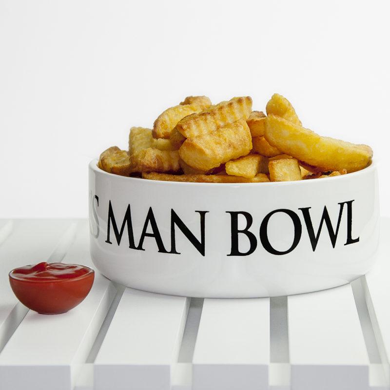 Personalised Super Large 'Man Bowl'