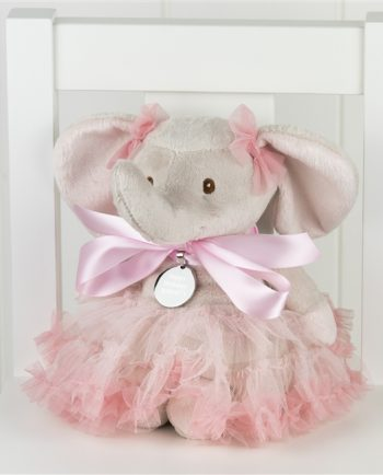 Nosey The Personalised Pretty In Pink Elephant
