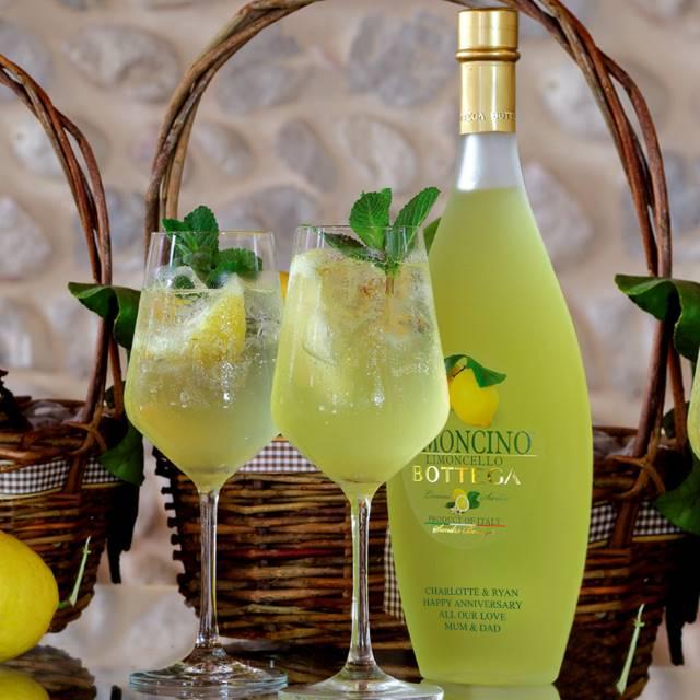 Personalised Bottle of Bottega Limoncello