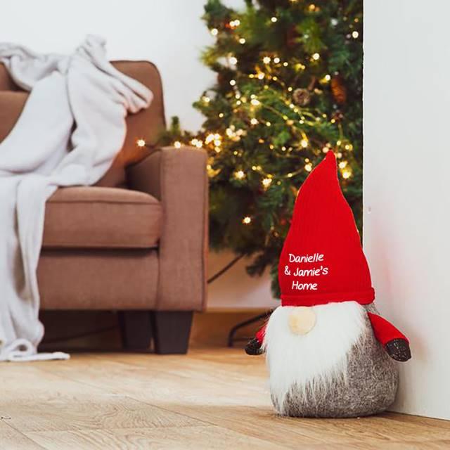 Personalised Santa Gonk Doorstop