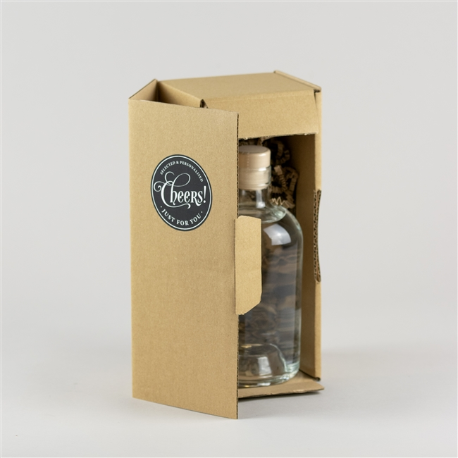 Personalised 'Gin Time' Engraved Gin Bottle
